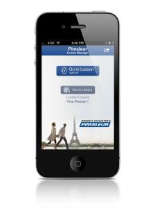 Pimsleur App Homescreen