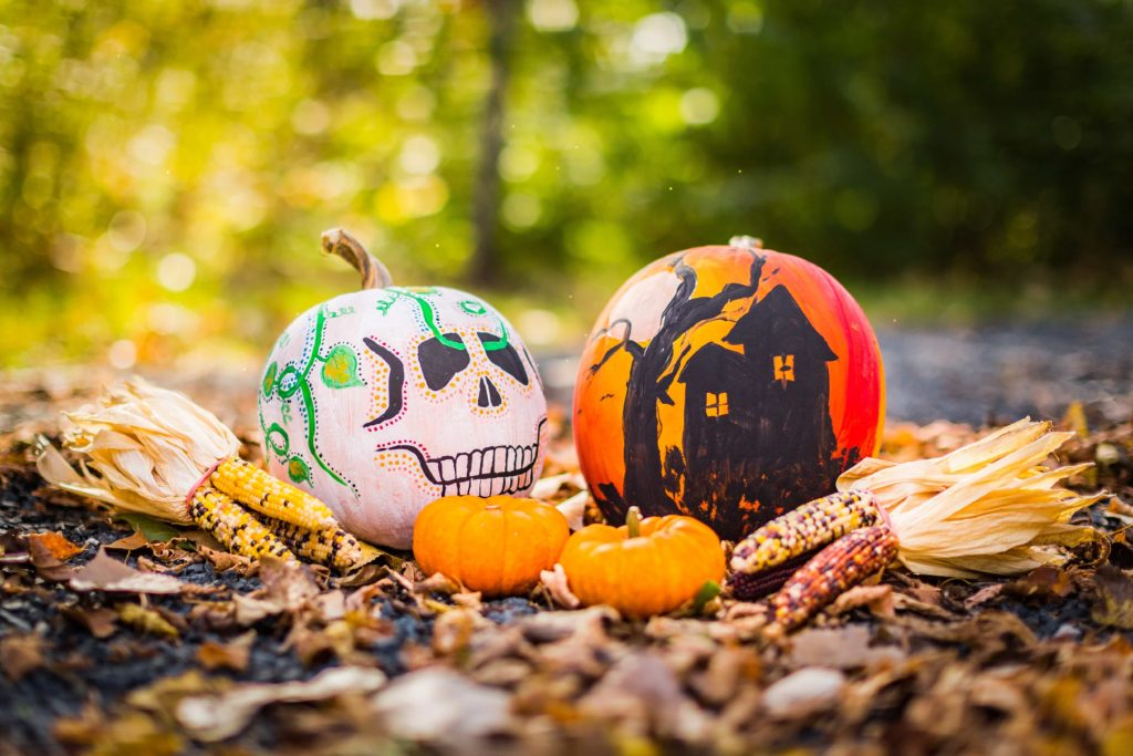 day of the dead and halloween