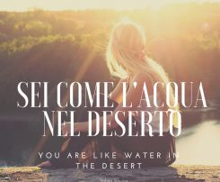 Romantic Italian Sayings