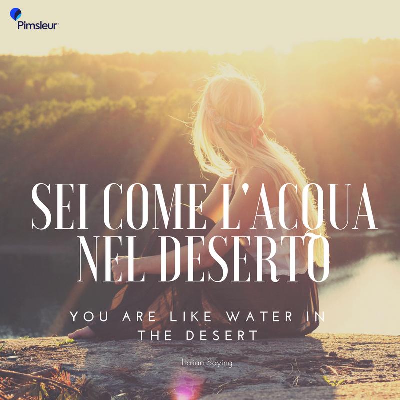 Romantic Italian Sayings