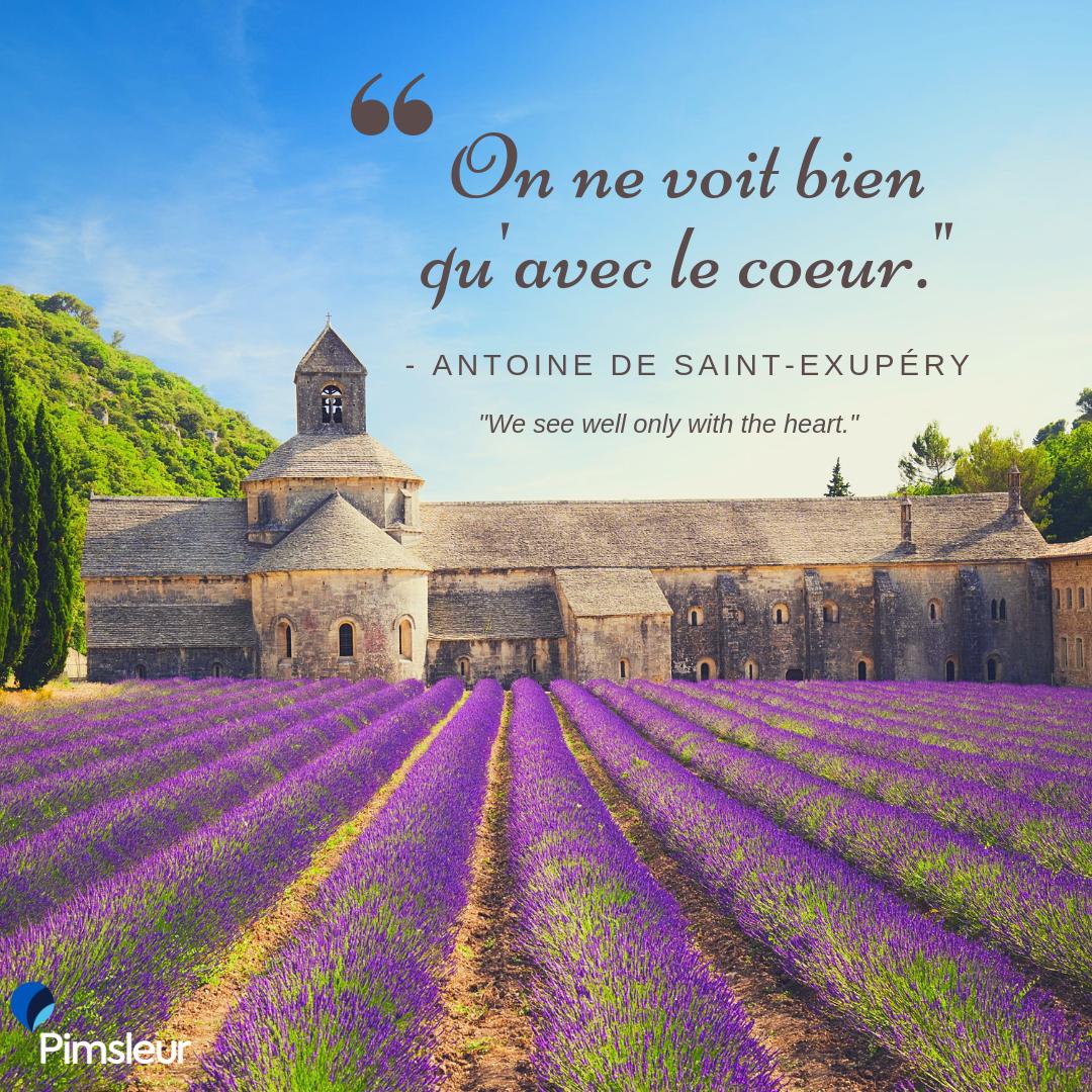 Antoine de Saint Exupery Quote