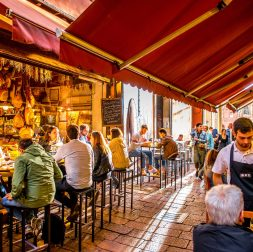 self-guided Bologna food tour