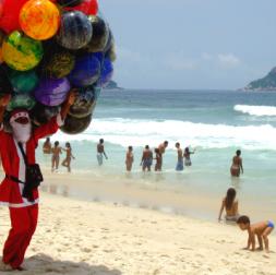 Christmas in Brazil (Rio)