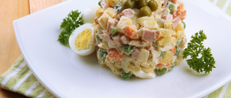 Russian Salad Olivier Recipe