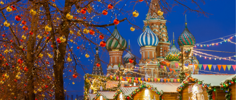Russian New Year and Russian Christmas