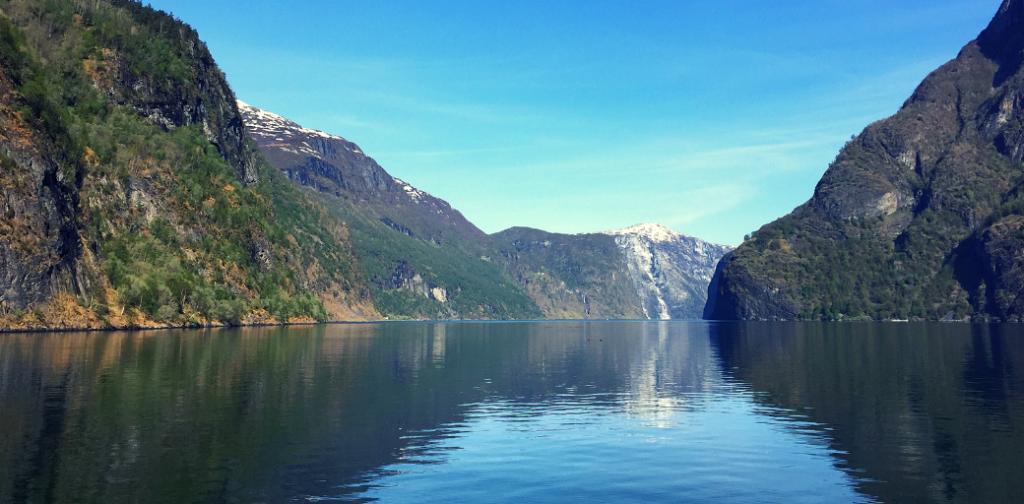 Sognefjorden Fjord Norway