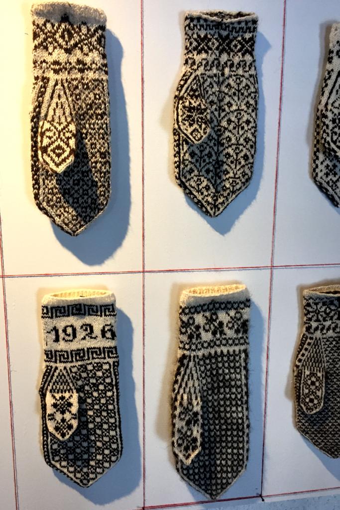 Norwegian Mittens Norsk Folkemuseum