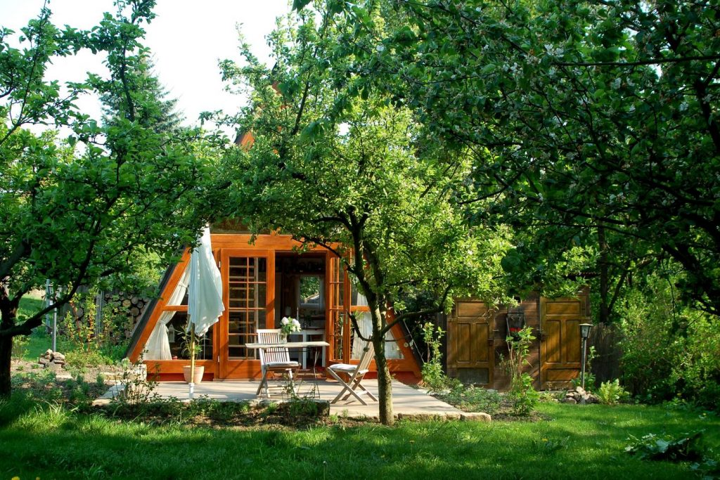 Gardenhaus Dresden - Tiny House in Europe for rent on airbnb