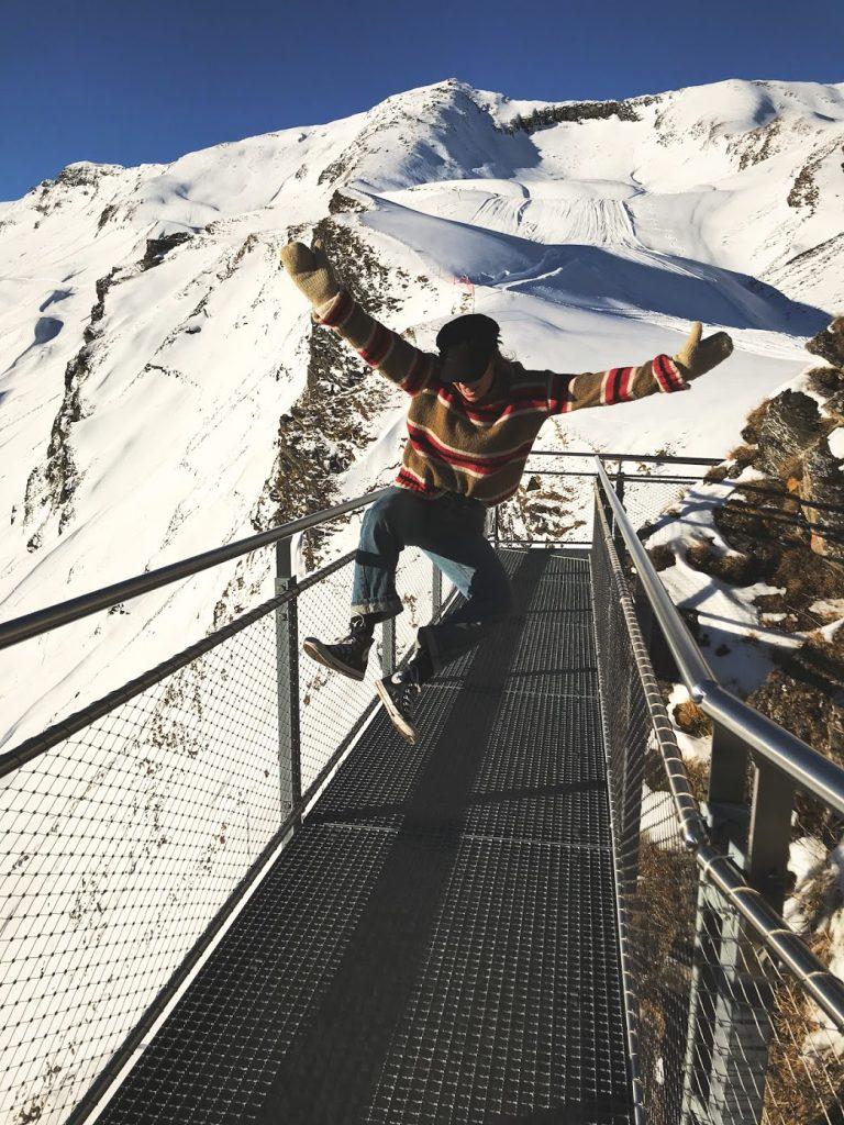 Dancing in Grindelwald Switzerland