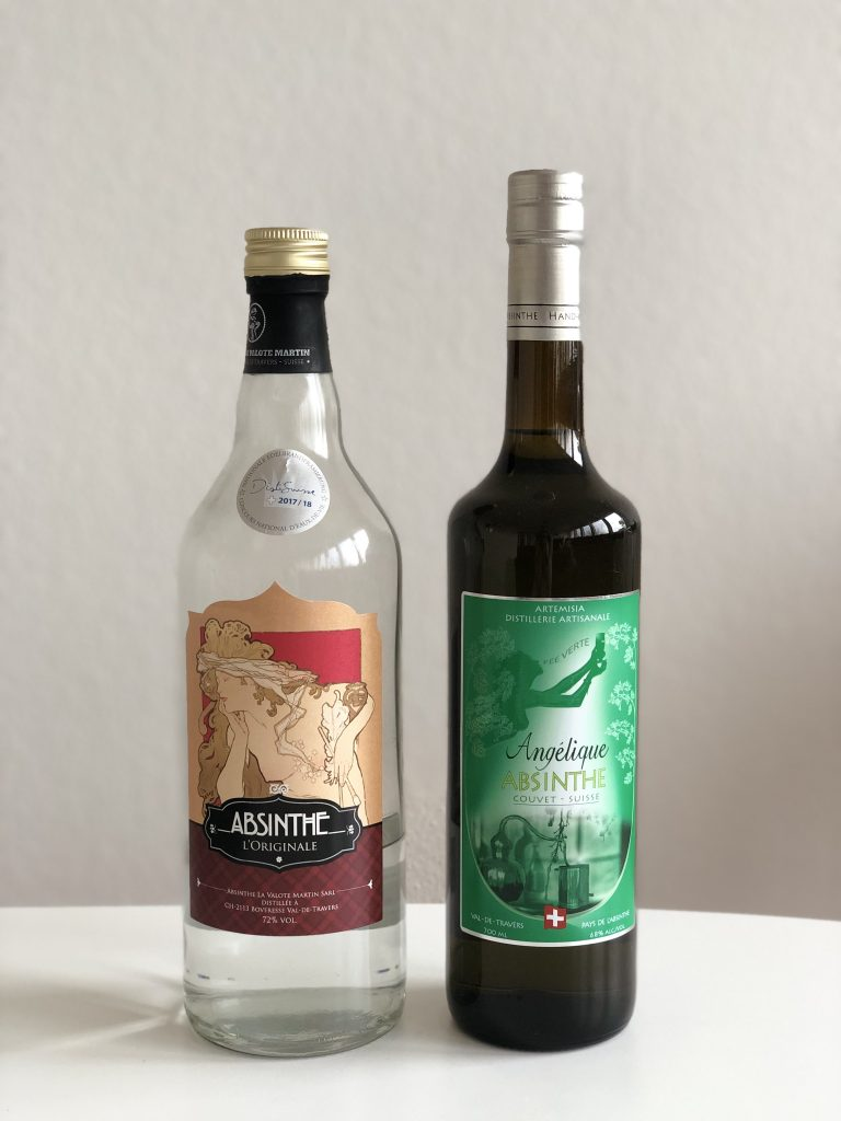 Types of Absinthe