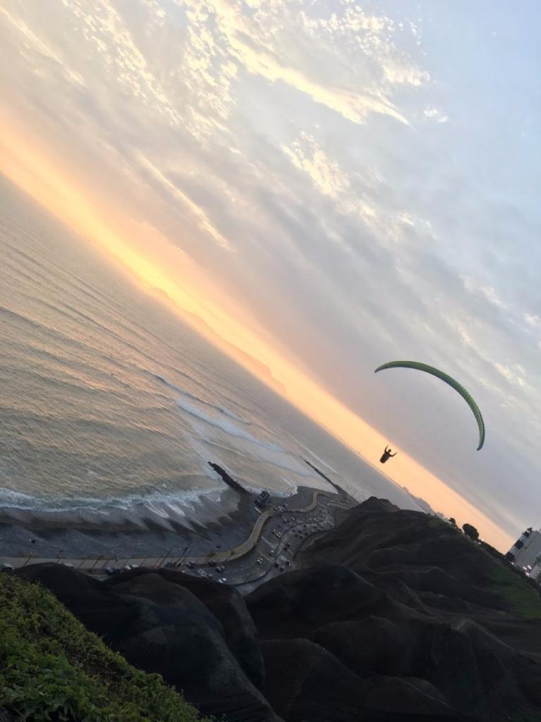 Paragliding Miraflores Lima Peru