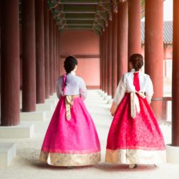 KOREAN HANBOKS HANOKS AND PALACES