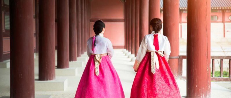 KOREAN HANBOKS HANOKS AND PALACES