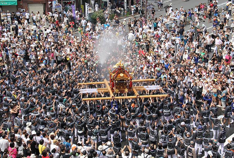 Fukagawa Matsuri Festival Tokyo, Japan