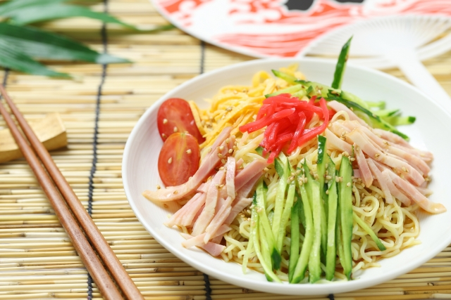 Hiyashi-Chuuka Japanese Summer Dishes