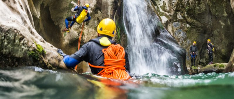 Beginner Canyoning Italy
