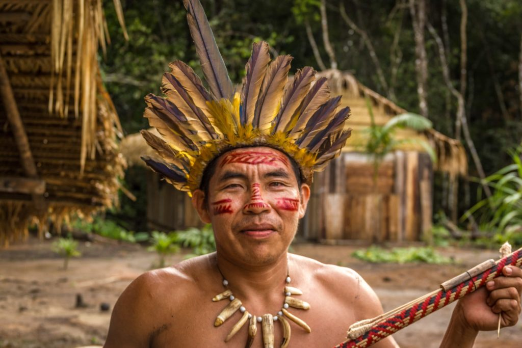 Shamanism Healing Cures uncontacted tribes in Amazon