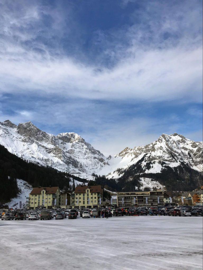 Engelberg mountain in Switzerland