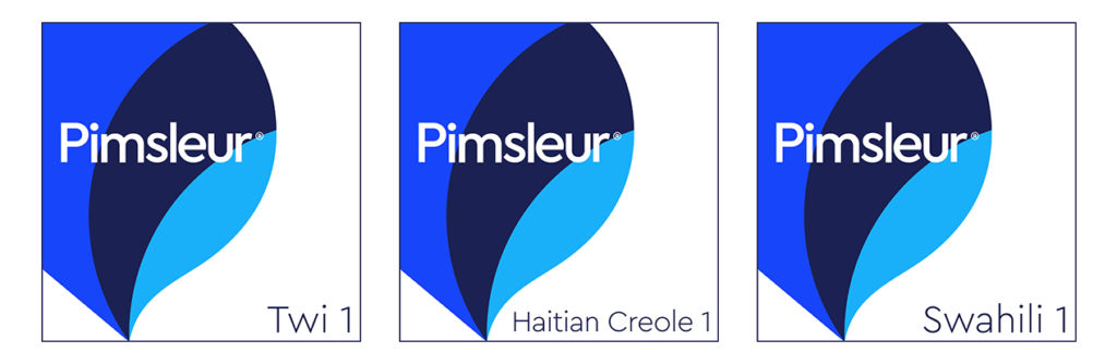 Pimsleur Learn African Swahili Twi Language Lessons Creole