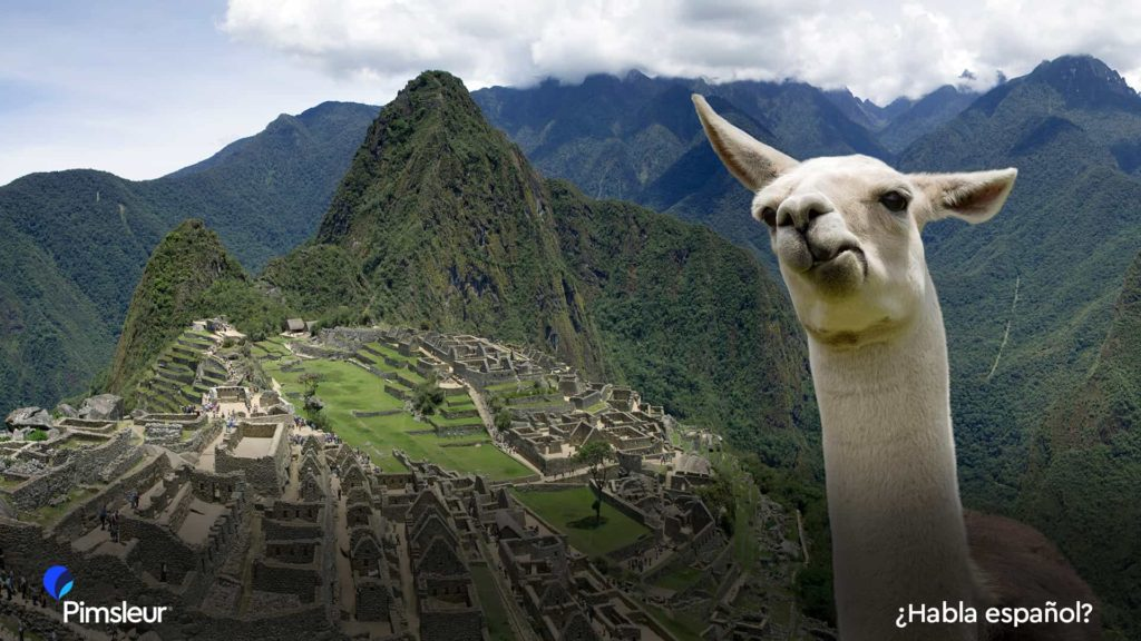 Free Zoom Background Machu Picchu Peru Spanish