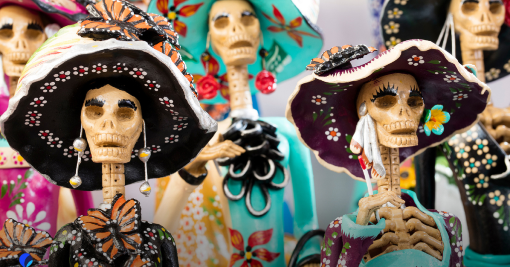 Day of the dead Zoom Backgrounds