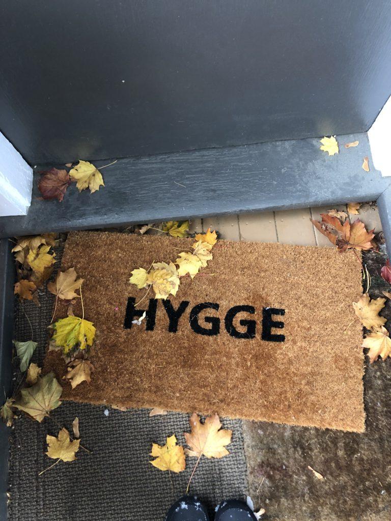 Scandinavian term hygge