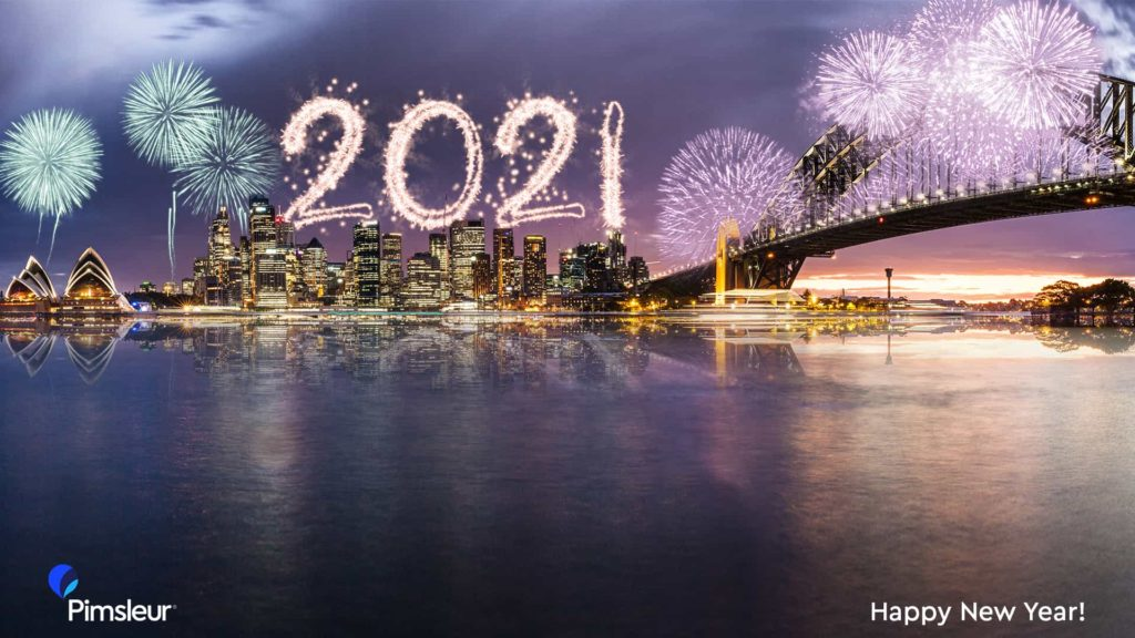 Free New Year's 2021 Zoom Background