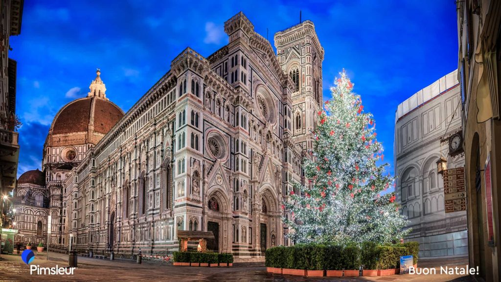 Free Holiday Zoom Background Italy