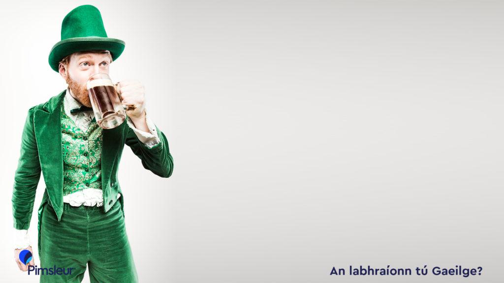 St Patrick's Day Zoom Background