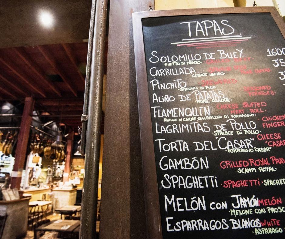 Spain Spanish slang Tapear