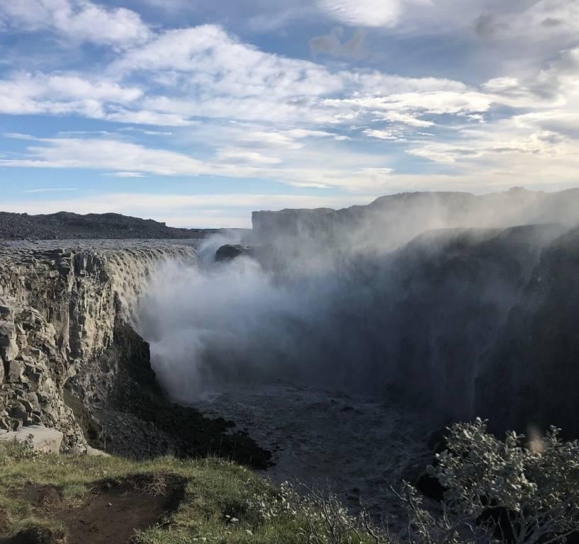 Iceland waterfalls Dettifoss