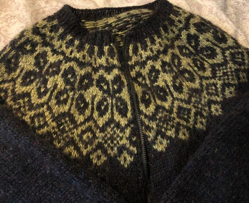 Lopapeysa - handknit Icelandic wool sweater