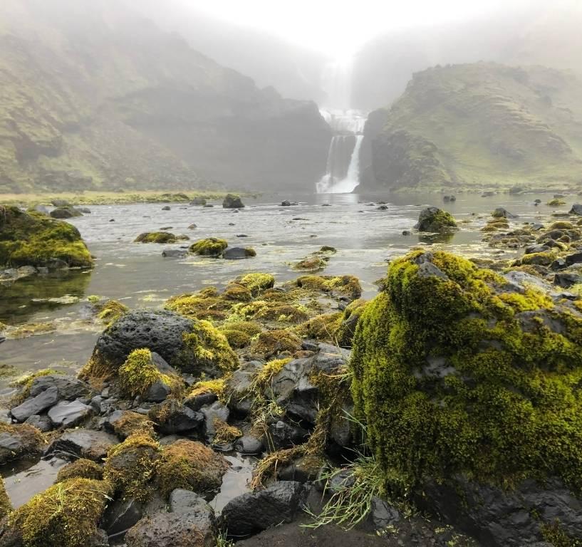 Iceland waterfalls Ófærufoss Landmannalaugar Hringvegur Ring Road