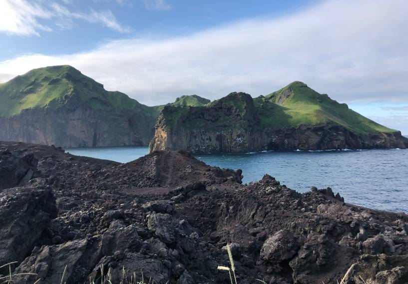 The Westman Islands Iceland volcanic eruptions